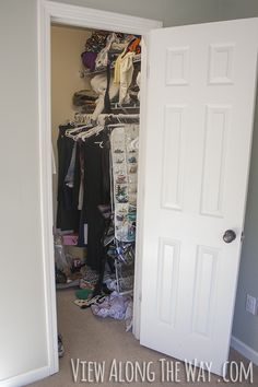 * Closet Makeover REVEAL!* - * View Along the Way  *