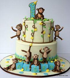 Monkeying Around Cake