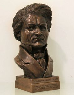 1865Company — Frederick Douglass Bronze Desk Bust Frederick Douglass, Personal Library, The Orator, Bronze Sculpture, Keepsakes, Paper Weights, Human Rights, Bookends, It Cast
