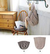 Ravelry: 214w-18 Crochet Basket pattern by Pierrot (Gosyo Co., Ltd)