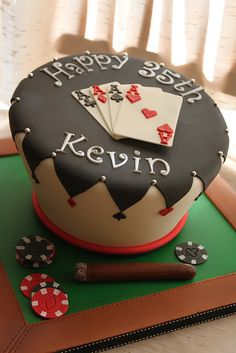 140 Best Poker Cakes Birthdays Images Casino Party Casino Theme