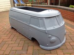 VW, Splitscreen, camper,van,tot rod;kit car;hotrod; go cart; custom,car,toy box.  What a fab project this would be.  A bus Isla could drive!! :-)