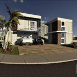 Projeto 3D Casa Container Guia definitivo: Como construir uma casa container comparativos construcao container design entrevistas fotos novidades sustentabilidade-2