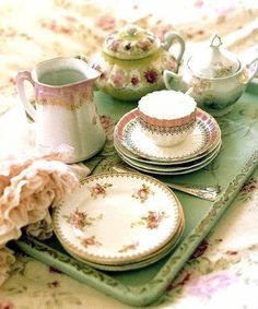 Gypsy Purple home...... tea tray