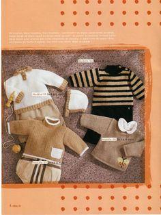 Album sous forme d'archive Knitting For Kids, Easy Knitting, Knitting Patterns Free, Free Pattern, Knitting Magazine, Crochet Magazine, Crochet Baby, Knit Crochet, Online Album