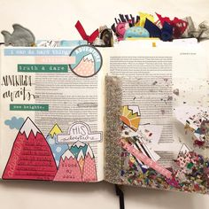 Illustrated Faith Revival Camp 2016 by Truth And Dare, I Have Been Waiting, Mixed Media Journal, Illustrated Faith, Judges, Bible Art, Journals, Study, Scrapbook