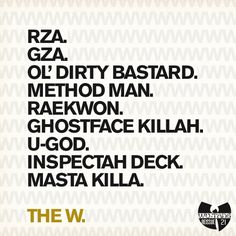 Wu-Tang Clan's The W x Blue Note Records