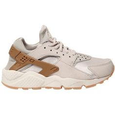 Nike Women Air Huarache Run Faux Suede Sneakers