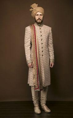 PuneetandNidhi presents wide collection of wedding sherwani for men in Noida, Delhi NCR & California. Designer and stylish Royal Sherwani collection. Sherwani For Men Wedding, Sherwani Groom, Mens Sherwani, Pakistani Wedding Outfits, Kurta Men, Punjabi Wedding, Couple Wedding Dress, Groom Wedding Dress, Groom Dress