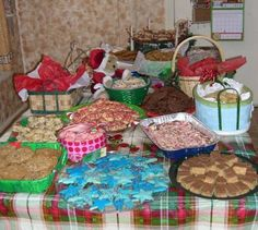 Karen Binder, Ballinger, Texas Cookie Exchange Party 2007