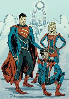 Super Family by Ming Doyle Or All super 3, Hate to be the villain to goes against them.
