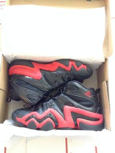 73f046104d524 Limited KB8 Men s Adidas Crazy 8 Black   Red Basketball Sneakers Size 10.5   eBay  Retweet  Sneakerhead  adidas  KB8  Kobe  RT