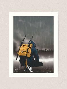 """modern day ninja"" Photographic Print by Urban Samurai, Samurai Art, Digital Art Anime, Anime Art, Street Fighter Costumes, Art Ninja, Character Art, Character Design, Cool Music Videos"
