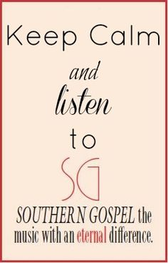 http://newmusic.mynewsportal.net - I love Southern Gospel Music!