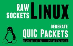Linux raw Sockets - Generate Google's QUIC Protocol Packets