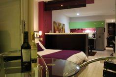 Loft Suites in 2 main rooms (+ balcony optional)