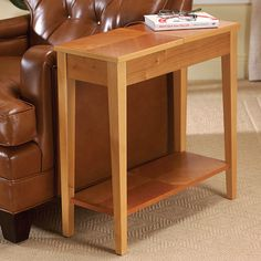 No-Room-for-a-Table Table - Occasional Table, End Table, Side Table - Levenger Item# G13-FA4080