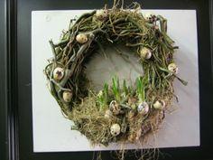 mooie, stoere voorjaarskrans