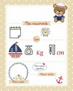 Bebês Baby Shots, Baby Posters, Baby Frame, Birthday Frames, Baby Clip Art, Baby List, Cute Baby Pictures, Baby Scrapbook, Baby Design