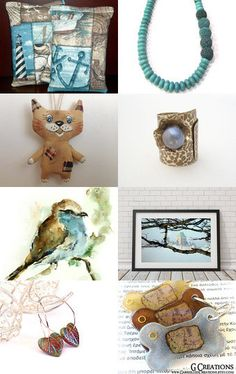 Summertime... and the living is easy... by Nathalie on Etsy--Pinned with TreasuryPin.com