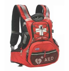 Be Prepared for Cardiac Emergencies - Even When You're on the Move The HeartSine® Mobile AED Rescue Backpack, custom made for the HeartSine samaritan®Public Access Defibrillator (PAD), lets you create and transport a heart safe solution to virtually any location. Ideal for Active Organizations • Mountain/Water/Disaster Rescue Teams • Community First Responders • Scouting/Youth Groups • Cycling, Hiking and Running Clubs • School Athletics and Outings • Family Outings And more… *HeartSine AED…