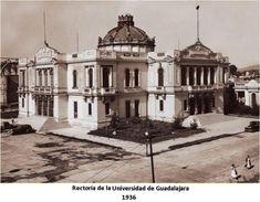 Rectoría de la Universidad de Guadalajara, año 1936