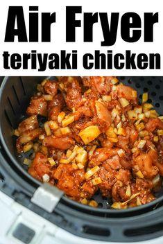 Chicken Tenderloin Recipes, Chicken Thigh Recipes Oven, Chicken Teriyaki Recipe, Baked Chicken Recipes, Marinated Chicken, Oven Chicken, Air Fryer Dinner Recipes, Air Fryer Recipes Easy, Air Frier Recipes