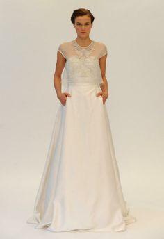 Catwalk talk: offbeat bridal gowns | Dreamwedding