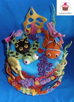 torta Nemo https://www.facebook.com/lecupcakesdellamarina