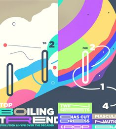 Boiling trends #type #colors