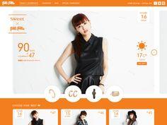 Sweet×Folli Follie 90days Coordinate « WebDesign Bookmark S5-Style