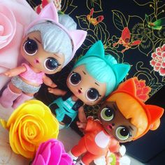 Lovely LOL doll Kitties  Kitty Queen Troublemaker & Baby Cat  #lol #lolsurprise #surprise #lolsurpriseglitterseries #doll #dolls #loldoll #loldolls #collectlol #collectlolsurprise #dollinstagram #dollcollection #dollcollector #dollphoto #dollphotography #mgaentertainment #kitty #queen #troublemaker #babycat #cat #glitter #glitters #rose #roses #flowers #sweet #sunday #february #25february