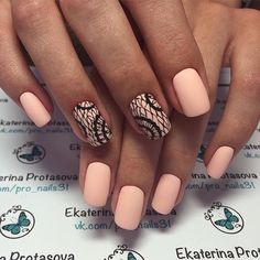 Beautiful nails, Beautiful nails 2017, Delicate nails, Evening nails, Festive nails, Festive spring nails, Ideas of matte nails, Matte nails