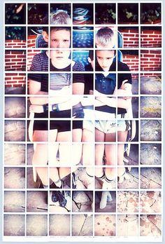 David Hockney: Polaroid Composites   UD photolab