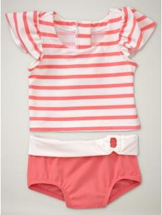 oh my! this baby swim suit is too adorable! too bad it doesn't come in my toddler's size =(