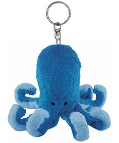 Octopus Plush Keychain Stuffed Animal by Puzzled