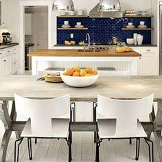 All-Time Favorite White Kitchen: Nautical White Kitchen