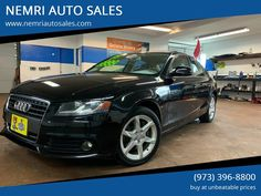 This 2009 Audi A4 2.0T quattro is listed on Carsforsale.com® for $6,500 in Dover, NJ. This vehicle includes Mirror Color - Body-Color, Cargo Area Floor Mat, Floor Mats - Front, Front Air Conditioning - Automatic Climate Control, Front Air Conditioning Zones - Single, Steering Wheel Trim - Leather, Interior Accents - Aluminum, Cruise Control, Multi-Function Remote - Keyless Entry, Retained Accessory Power, Steering Wheel Mounted Controls - Audio, Steering Wheel Mounted Controls - Phone, Power… Climate Control, Keyless Entry, Cruise Control, Audi A4, Leather Interior, Floor Mats, Remote, Cars, Vehicles