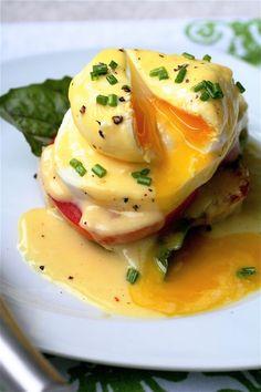 Caprese Eggs Benedict