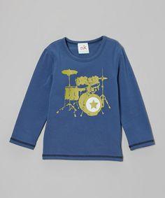 Love this Blue Drum Tee - Toddler & Boys on #zulily! #zulilyfinds