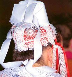 Plougastel-Daoulas Folk Costume, Costumes, Folklore, Celtic, Lace, Bracelets, Fashion, Brittany, Everything