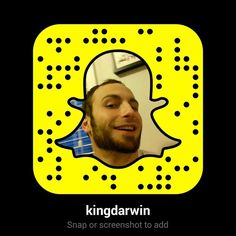 I'm on Snapchat. Go ahead and add me https://www.youtube.com/user/kingdarwin604?sub_confirmation=1