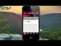 The Visit Southern West Virginia Itinerary Application - helps you find the beautiful places