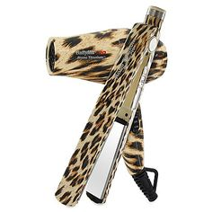 Leopard Print Products   ... Irons Babyliss Pro Nano Titanium Leopard Flat Iron and Hair Dryer set