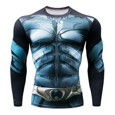 Men Crossfit Long Sleeve Compression Shirt 3D Anime Superhero Superman Captain America T Shirt Tights Fitness Men Tops & Tees. Yesterday's price: US $3.49 (2.87 EUR). Today's price: US $3.49 (2.87 EUR). Discount: 67%.