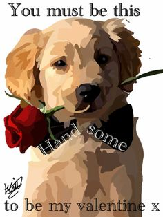 https://www.etsy.com/treasury/MTg3NzM2Mzh8MjcyMzEyMDc3Nw/nattures-walk Hand drawn Golden Retriever carrying a Rose  by capT21boutique, £4.50