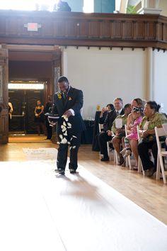 Flashback Friday - Harlem Renaissance Themed Wedding in Ohio: Leah and Robert - Munaluchi Bridal Magazine