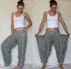 hammer pants / harem pants / yoga / surf / hippie clothing ~ $48.00