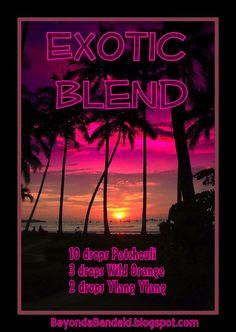 Exotic blend BeyondaBandaid.blogspot.com