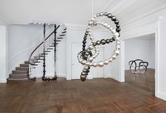 Jean-Michel Othoniel at the L Gallery.